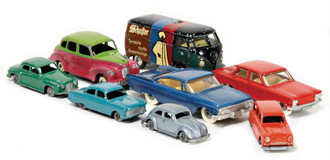 mixed lot of  model cars, England, among it VW,