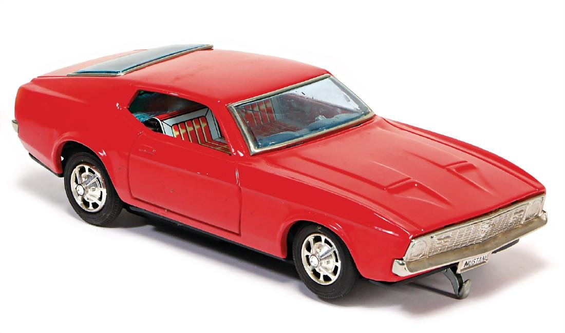 Ford Mustang, Japan, battery-operated, sheet metal, 25