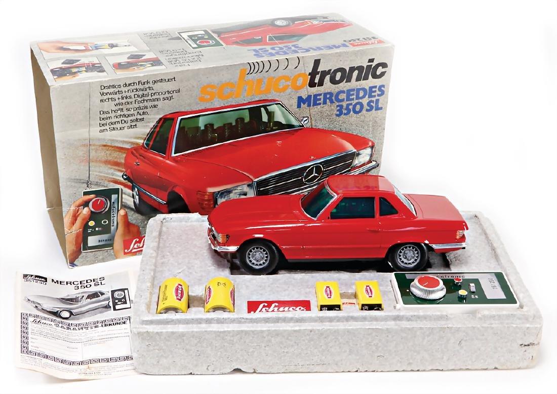 SCHUCO Tronic, Mercedes 300 SL, plastic with remote