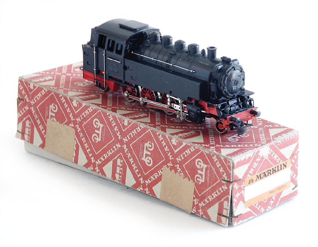 MÄRKLIN H0, T800, tender-locomotive, 1D1, with openable
