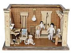 GOTTSCHALK dollhouse bathroom, width: 38 cm, height: