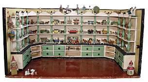 dollhouseshop furnished like a toy shop width 78