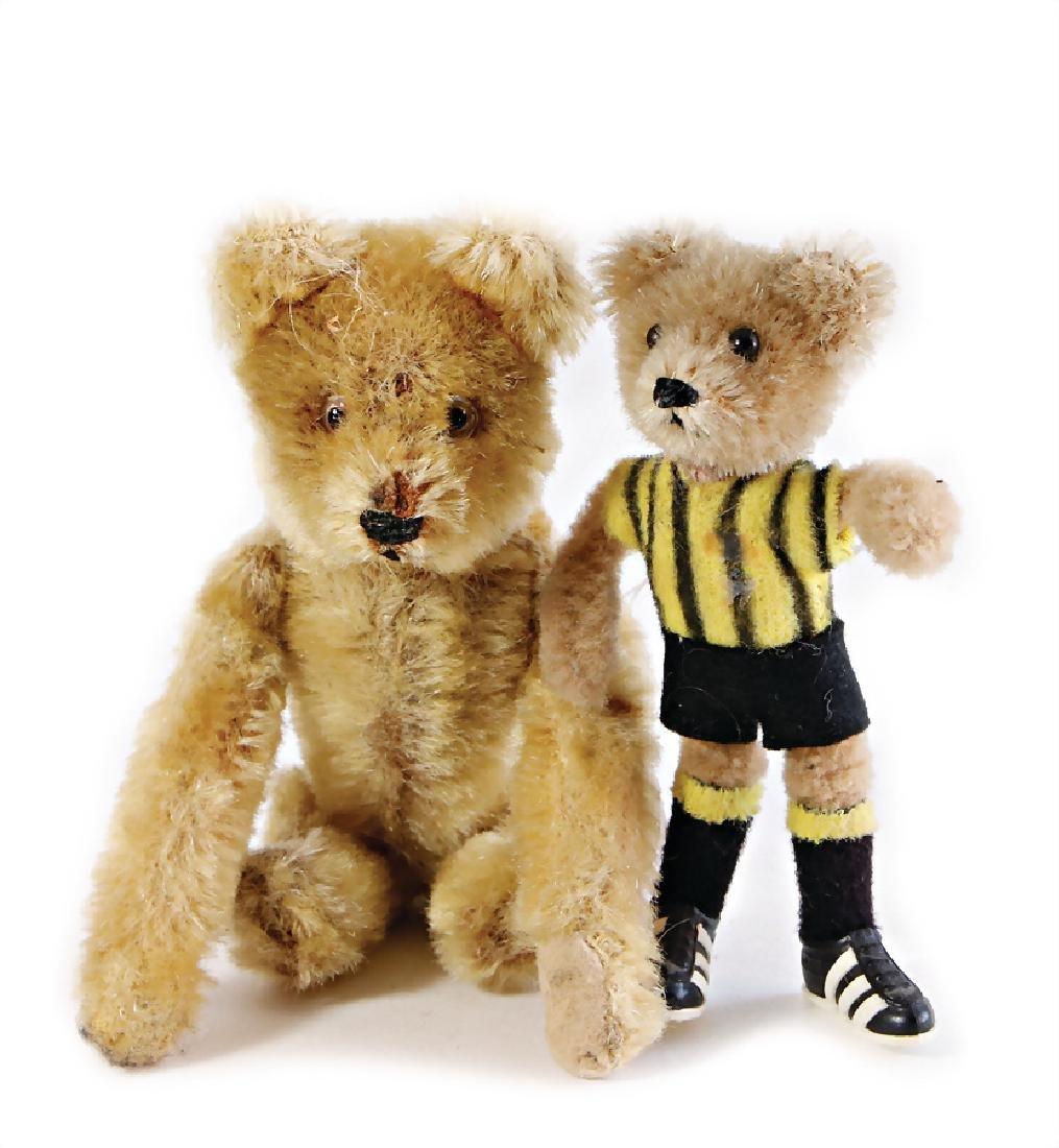 SCHUCCO Bigo Bello, football bear, with felt-Triko,