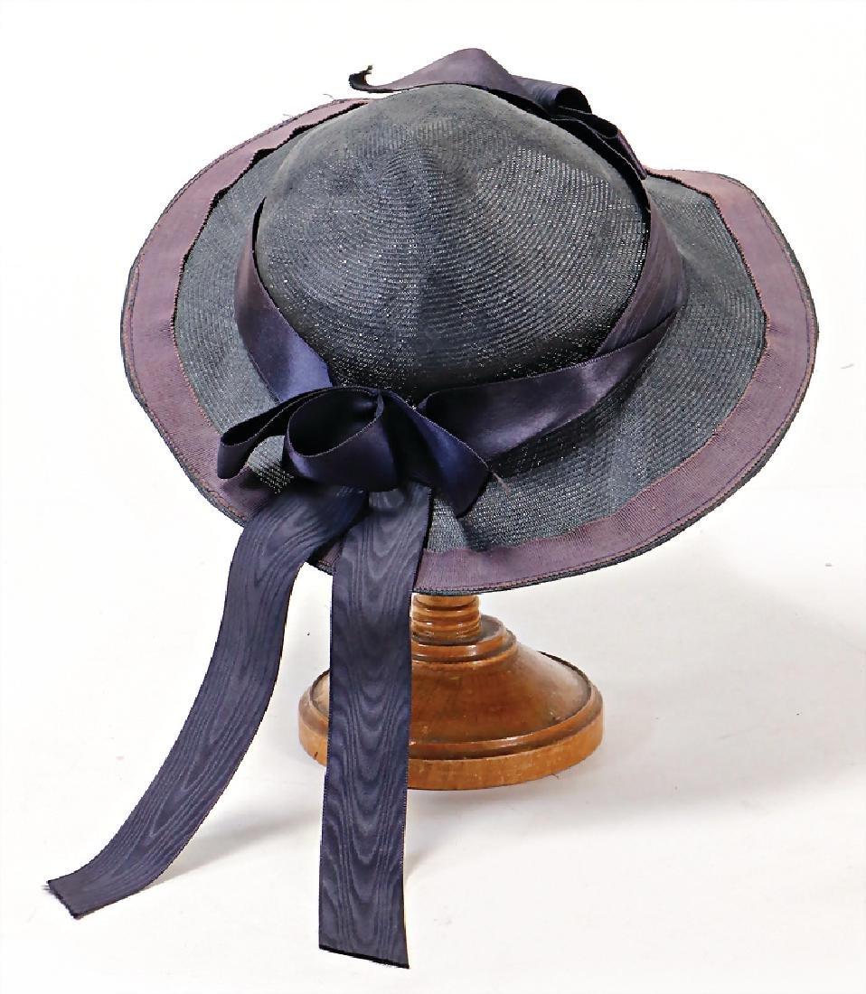 child hat, c. 1920, for a big doll   German Description