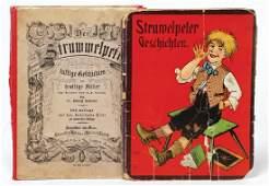 """2 Bücher, """"Der Struwwelpeter"""", lustige Geschichten,"""