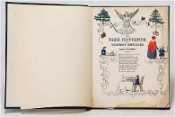 Engl. ?Struwwelpeter?, Leipzig, 1850, handcoloriert,