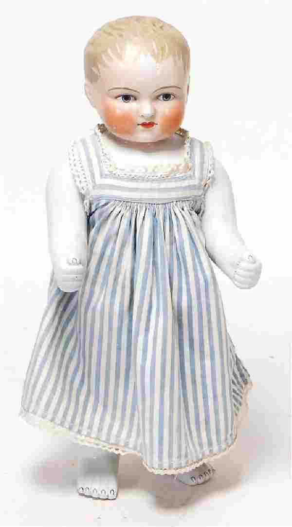Badepuppe, glasiertes Porzellan, Frozen Charly, 38 cm,