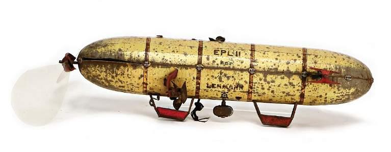 LEHMANN Zeppelin, EPL 2652, 25 cm, Blech lithogr.,