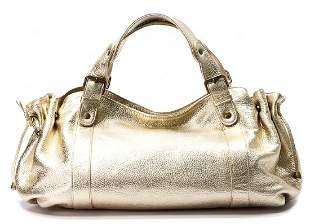 GERARD DAREL handbag cowskin model 24 H gold