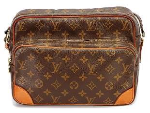 LOUIS VUITTON handbag model Nil monogram Canvas 2
