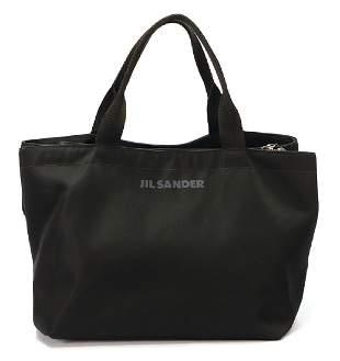 JIL SANDER handbag fabric 2 carrying handles 3