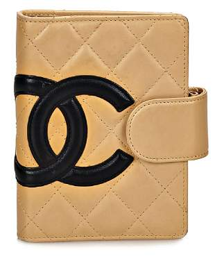 CHANEL notebook series Cambon ligne quilted lambs