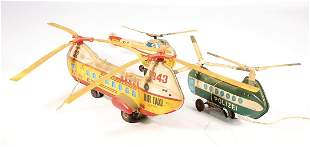 pieces helicopter lithographed sheet metal