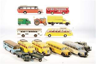 mixed lot of model cars different scales older and