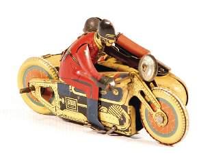 SFA France motorcyclist lithographednbsp sheet