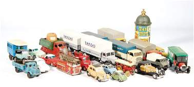 mixed lot with c. 50 pieces model cars, different