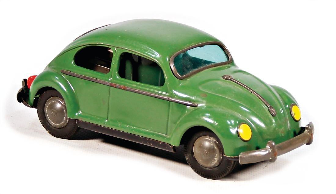 VW beetle, Japan, sheet metal, battery-operated, 18.5