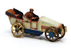 PENNY TOY automobile, c. 1920, sheet metal,