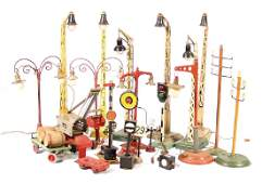 big mixed lot of train accessories, suitable for track