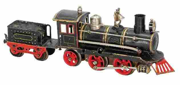 MÄRKLIN age-old, tow-tender-locomotive, 2.1, with
