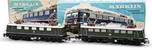 MÄRKLIN mixed lot with 2 items, electric-locomotives,