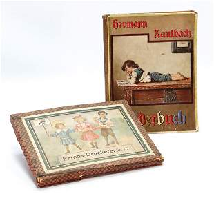 2 pieces Herrmann Kaulbach picture book with 45