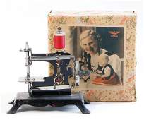 CASIGE sewing machine, Nr.21, tendril decor, in