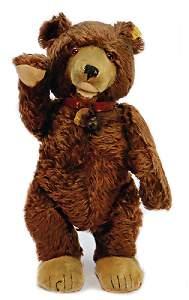 STEIFF teddy-baby, pre-war era, complete number  is