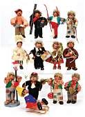 Konv. 13 orig. PETER-Figuren, Made in Austria,