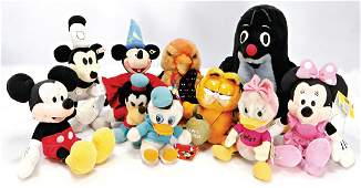 Konv. Walt Disney Figuren, Garfield, Die Maus, 1 Spatz,