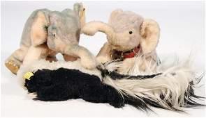STEIFF 3 Teile, 2x Cosy Elefant, 1x davon mit Knopf u.