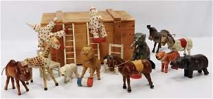 SCHOENHUT Humpty Dumpty, kl. Serie, 2 Pferde, Kamel,