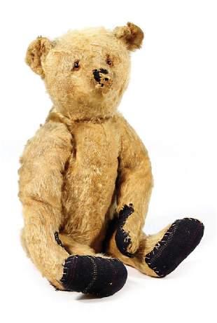 STEIFF Bär, ca. 1930, 42 cm, lange abgeknickte Arme,