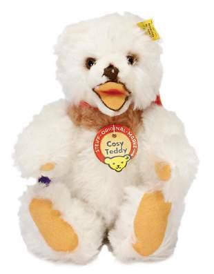 STEIFF Cosy teddy white postwar era complete number