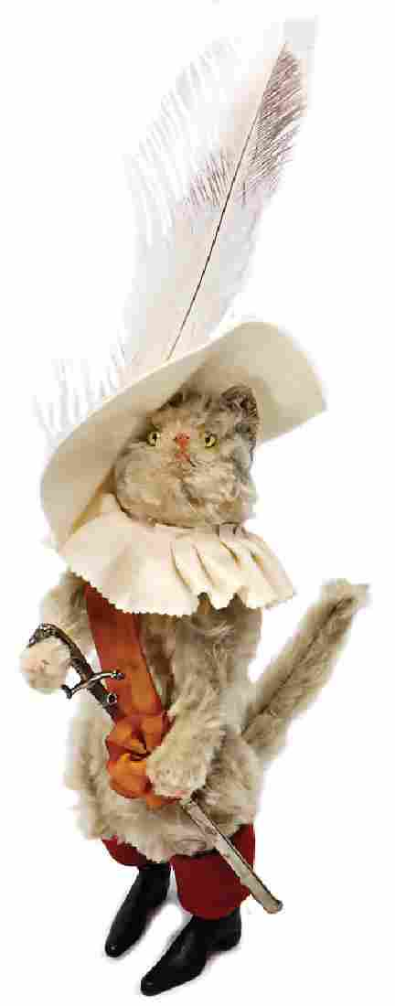 STEIFF Puss in Boots, 35 cm, sixfold jointed (head,