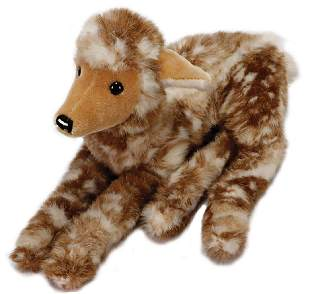 STEIFF fawn lying without head and chest label