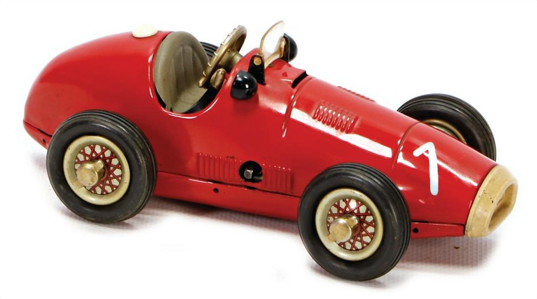 SCHUCO Grand Prix Racer, 1070, 16 cm, US-zone, clock