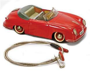 DISTLER Porsche, 356, sheet metal, 24.5 cm, dash