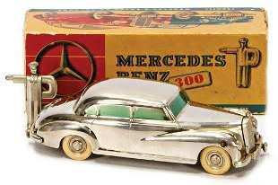 PRAEMETA Mercedes Benz, 300, casting, chromium-plated,
