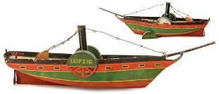 PROBABLY LUTZ LEIPZIG wheel steamer, 1 vane wheel