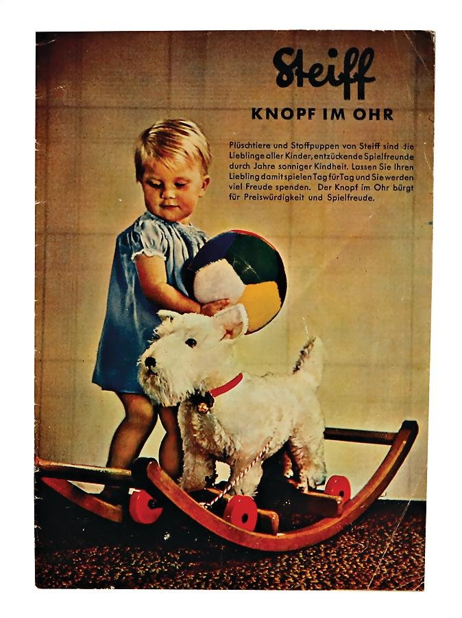 STEIFF Knopf im Ohr, original brochure, c. 1951, 16