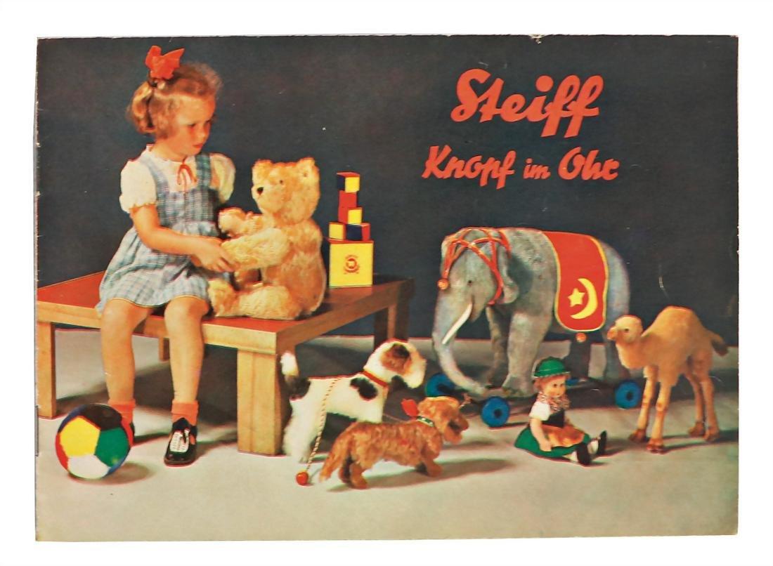 STEIFF original brochure, 1940, bears, teddy babies,