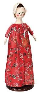 RALPH LAUREN «ALMA», Queen-Anne doll with royal