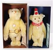 STEIFF 2 Bären, Replica, 1x Teddy-Clown, 32 cm, Replica
