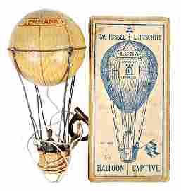 LEHMANN captive airship, Luna 400, sheet metal,