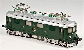 W. HERRMANN MODELLBAHNEN track 0, 4-axled electric
