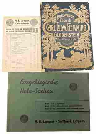 catalog Holzwarenfabrik Carl Ludwig Flemming