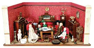 dollhouse room width 57 cm height 285 cm