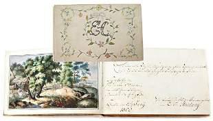 early poesy album 18001802 partially very nice