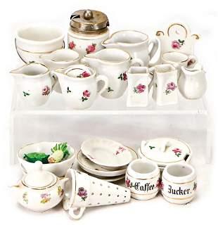doll kitchen pieces made ofnbsp porcelain mostly